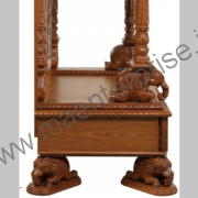 Big Wooden Temple for Home Decoration_1