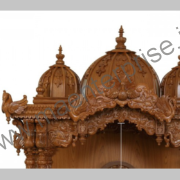Big Wooden Temple for Home Decoration_2