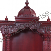 Wooden Temple Design for home_2
