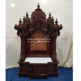 Wooden Mandir temple