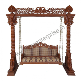 Wooden Swing Jhula for Home
