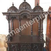 Big Wooden Swaminarayan Temple for Home