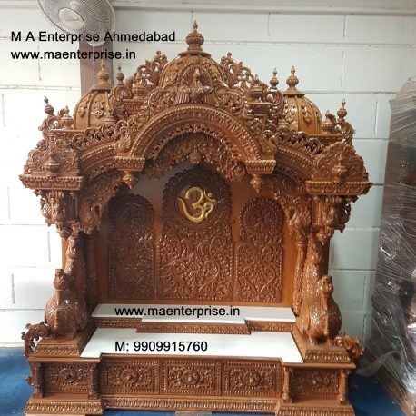 handicraft wooden temple mandir