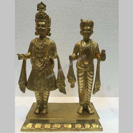 Swaminarayan Bhagawan Murti of Brass