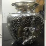 Brass pot flower vase_1