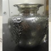 Brass pot flower vase_3
