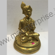 Ghanshyamji maharaj Bhagwan Swaminarayan murti of brass idol_1
