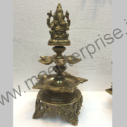 Ganesha Diya of Brass for Gift