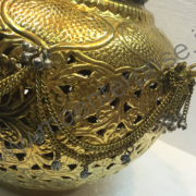 Brass pot flower vase for home decor_1