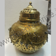 Brass pot flower vase for home decor_2