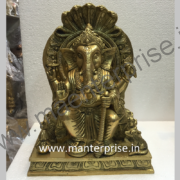 Lord Ganesha Statue of Brass