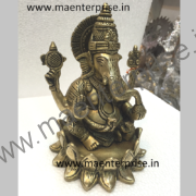 Metal God statue of Lord Ganesha gifts_2
