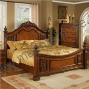 Wooden Bed Set for Sale