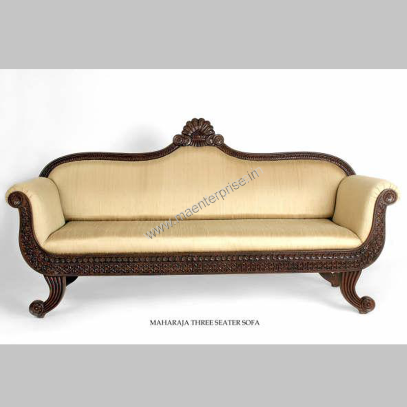 Indian Wooden Sofa Set Designs
