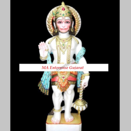 Lord Hanumanji Marble Statue