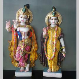 Lord Krishna Marble Murti