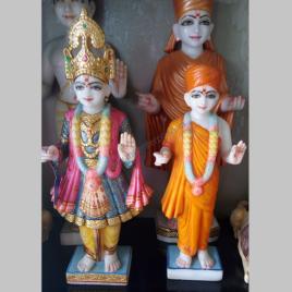 Marble Swaminarayan Murti statue-2