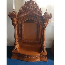 A Ready Teak Wood Temple Mandir For Home : Immediate Delivery