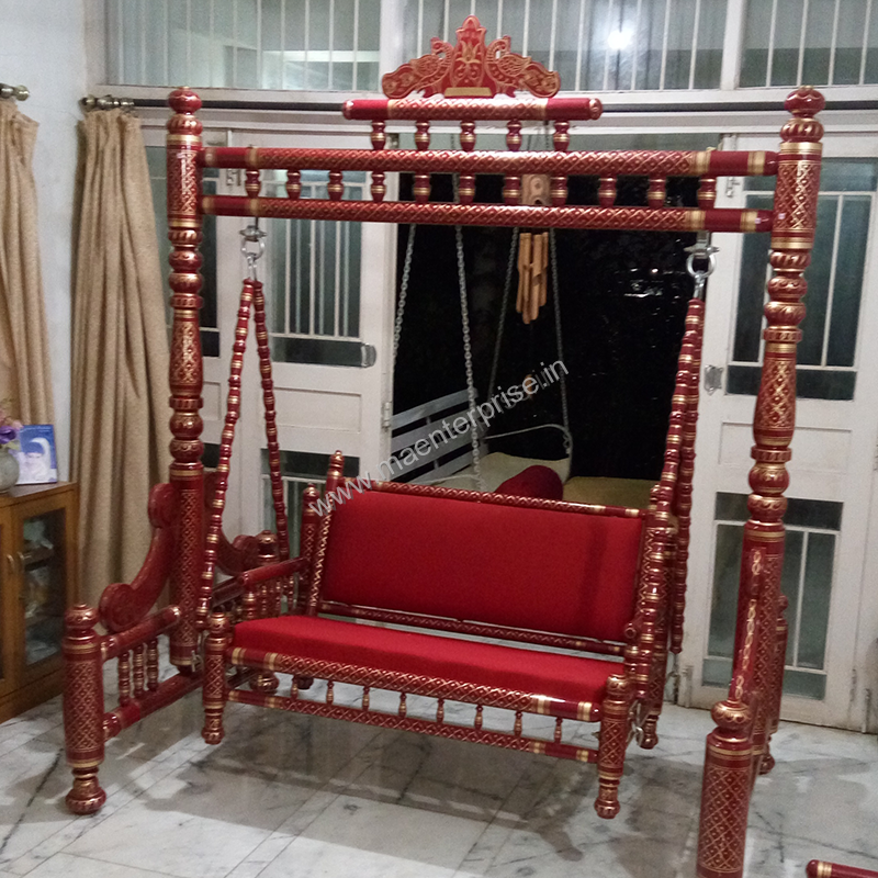 Indian Swing Sankheda Wooden Furniture In Australia