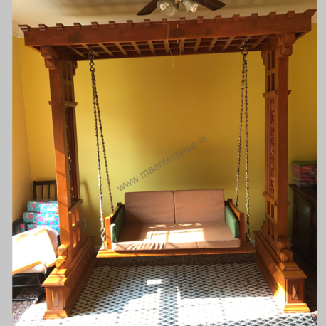 Rajasthan wooden swing jhula