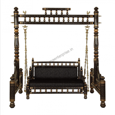 Sankheda Wooden Swing Jhula for Home