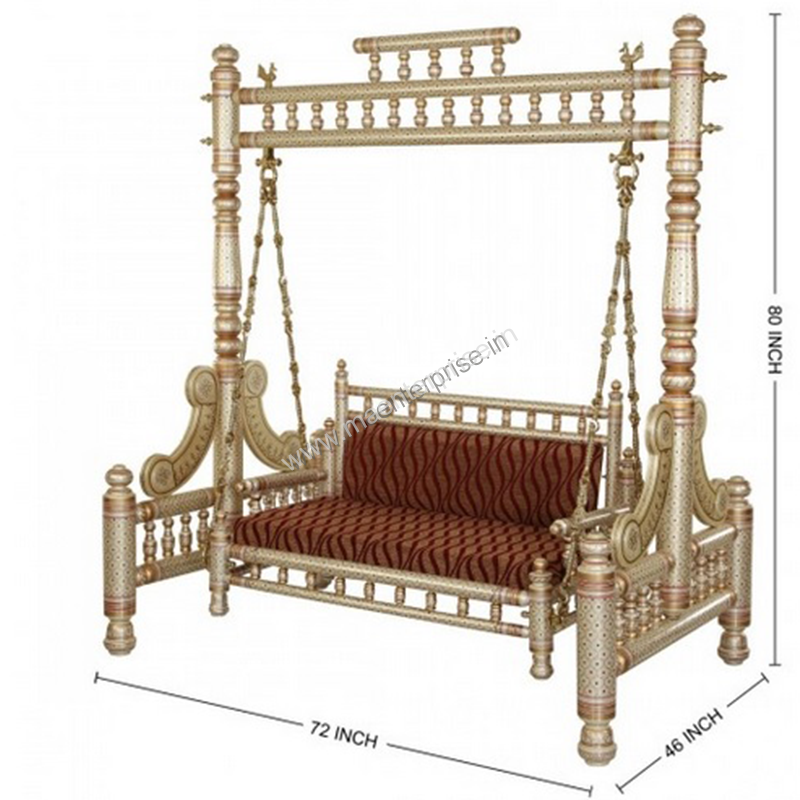 Indian Swing Sankheda Wooden Furniture In Usa