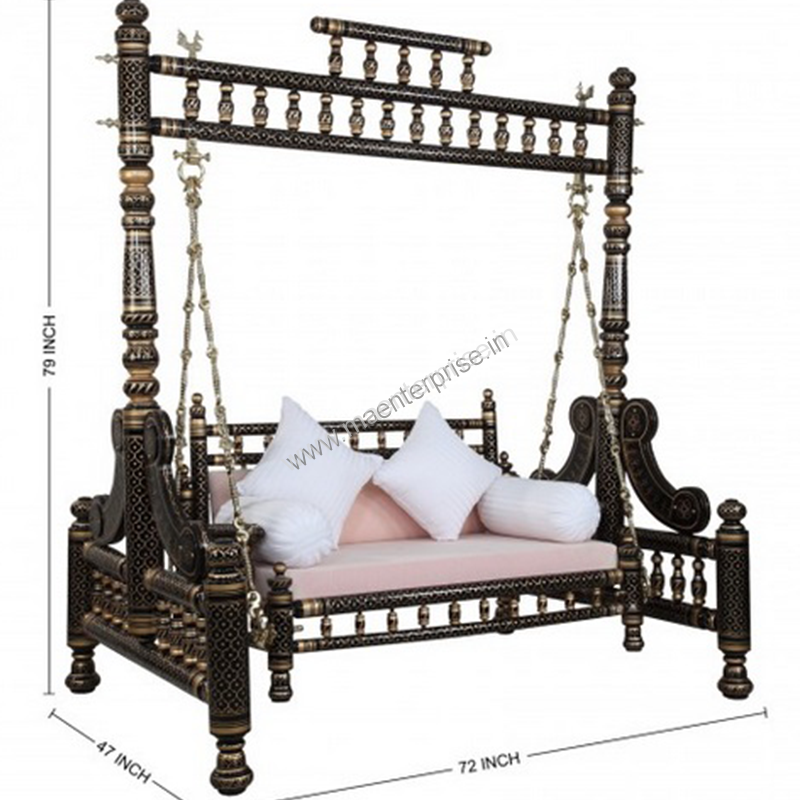 Indian Swing Sankheda Wooden Furniture In Usa 04 M A Enterprise