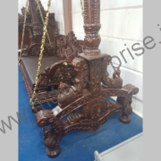 Indian wooden swing for home_1