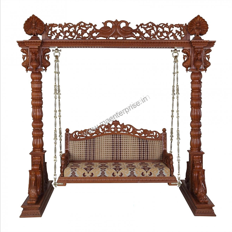 Indian Swing Sankheda Wooden Furniture in USA