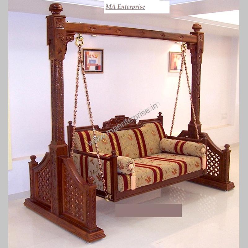 indoor bedroom swings. teak wood indoor indian swing for home bedroom swings m