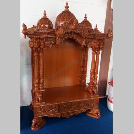 Ghar Mandir temple to shipped to USA_1