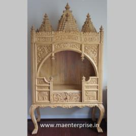 Indian Sevan Wood pooja mandirTemple for Home