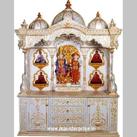 Wooden Pooja Mandir for Home Decoration