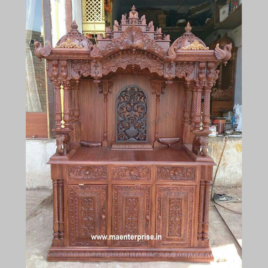 Tall Teak Wood Temple for Home