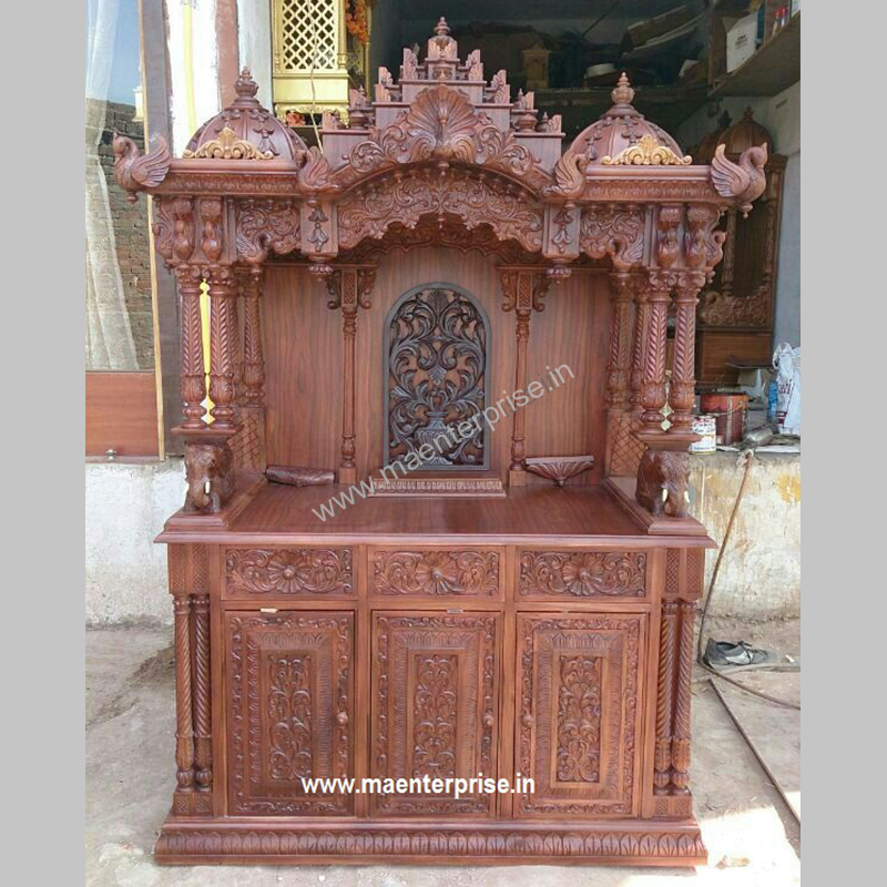 6ft Height Wooden Temple Made From Teak wood e873ac015