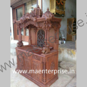 Temple made from Teak wood of 6ft height_2