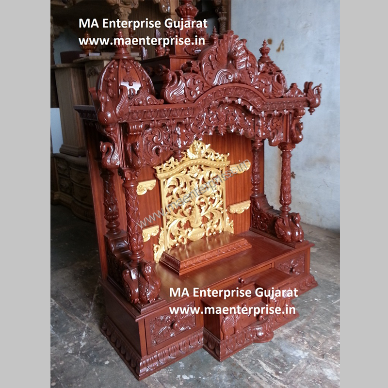 home wooden temple design. Indian wooden Temple design for Home  M A Enterprise