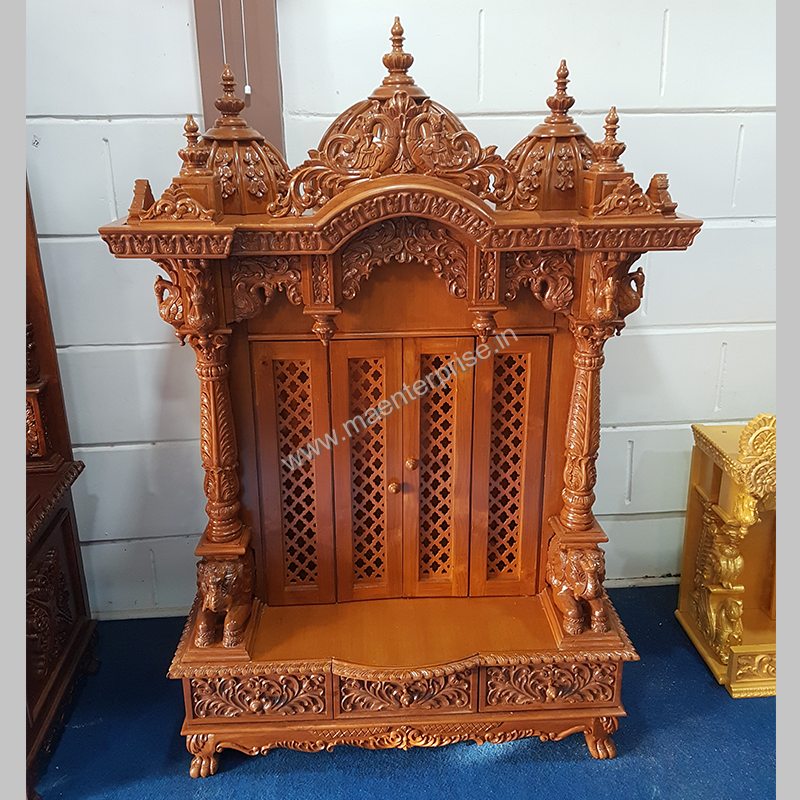 Home Wooden Temple Design Buy Home Temple Online In