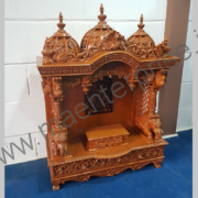 Wooden Carved Temple pooja mandir for Home_1