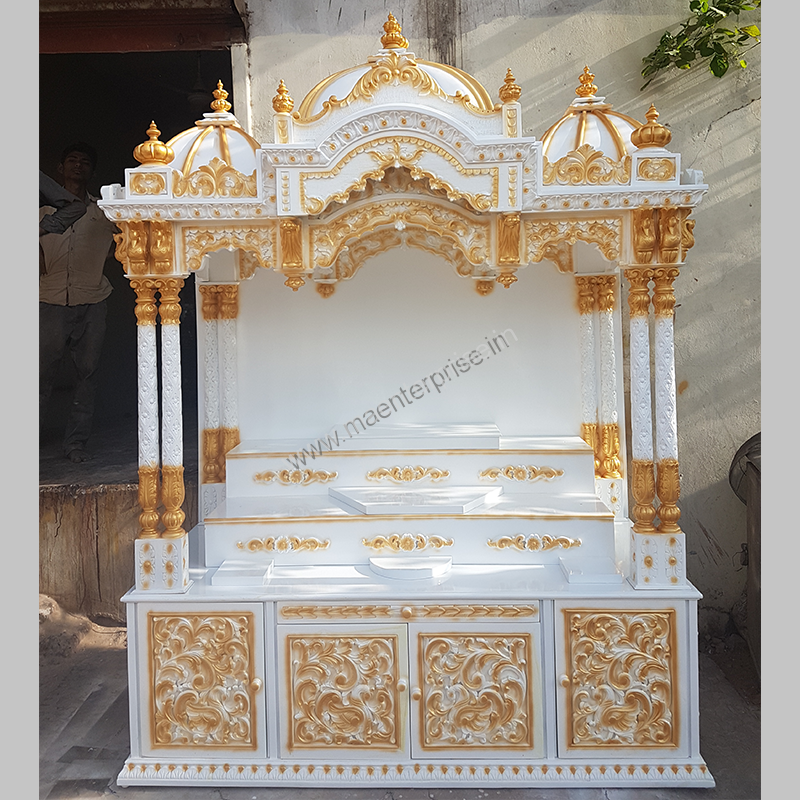 Wooden Temple Mandir for Home - M A Enterprise
