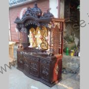 Antique wooden temple_1