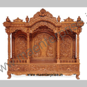 Wooden Carved Temple for Home