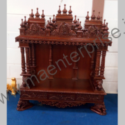 Hindu wooden temple designs for home_1