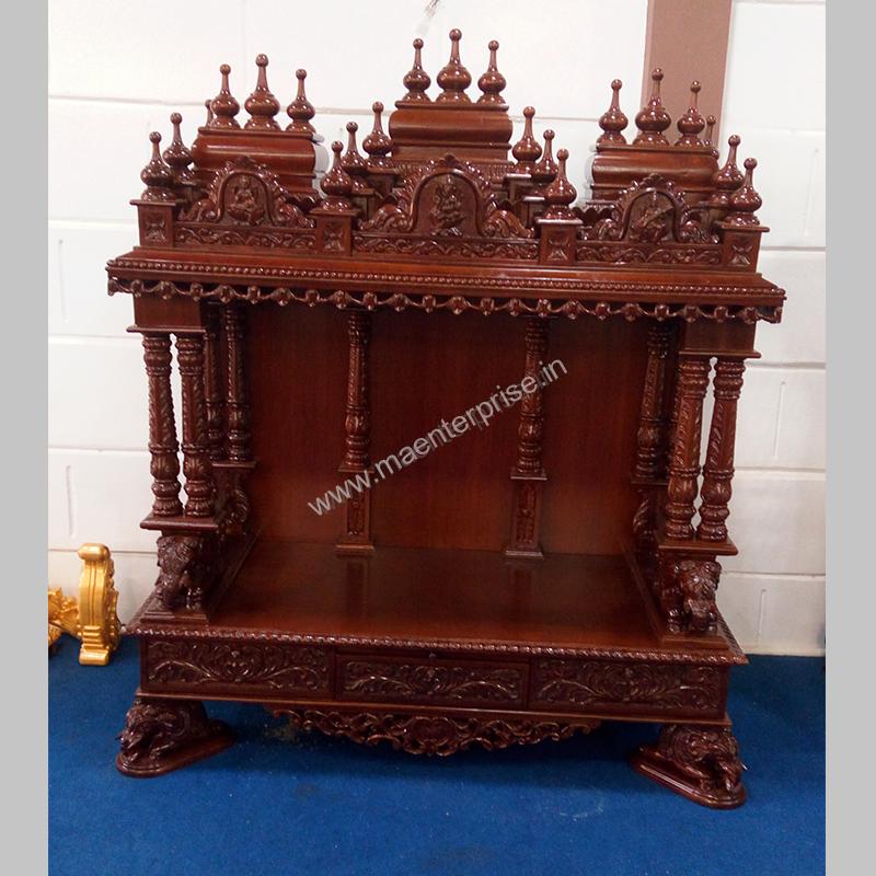 Merveilleux Hindu Wooden Temple Designs For Home_1