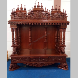 Hindu wooden temple designs for home_2