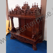 Hindu wooden temple designs for home_3