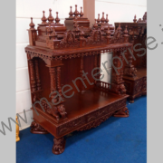 Hindu wooden temple designs for home_4