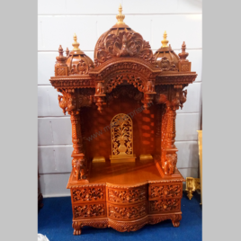 Small Wooden Temple Designs for Home