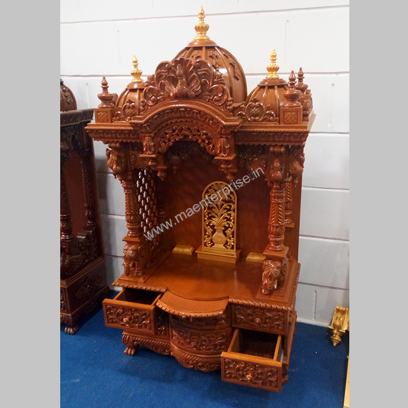 Small Wooden Temple For Home Designs For Home_4