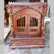 Indian Wooden Temple for Home